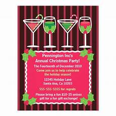 Office Christmas Party Invites Bright Festive Office Christmas Party Invitation 4 25 Quot X 5
