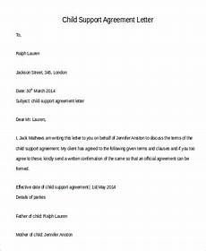 Child Support Letters Free 105 Letter Samples In Pdf Ms Word