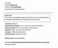 Resume Objective For Freshers 61 Resume Objectives Pdf Doc Free Amp Premium Templates