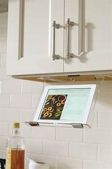 tablet holder schrock cabinetry