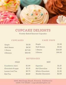 Making A Menu Online Customize 26 Bakery Menu Templates Online Canva