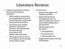 Apa Style Literature Review Apa Style Lit Review Literature Review Outline Useful