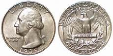 1932 D Quarter Value Chart 1935 D Washington Silver Quarter Coin Value Prices Photos