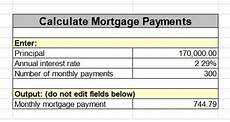 How To Calculate Mortgage Payment In Excel How To Calculate Mortgage Monthly Payment Using Excel