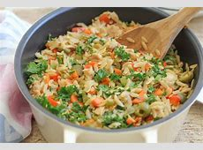 Quick and Healthy Dinner: Orzo with Tuna ? Hip Foodie Mom