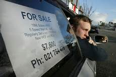 For Sale Sign For Car Car S For Sale Sign Leads To Parking Fine Stuff Co Nz