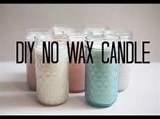 diy candles diy no wax candle