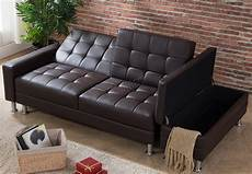 westwood pu sofa bed with storage 3 seater guest sleeper