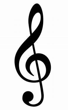 Treble Sign Large Image Of Treble Clef Treble Clef Art Music Notes