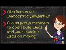 Participative Leadership Participative Leadership Youtube
