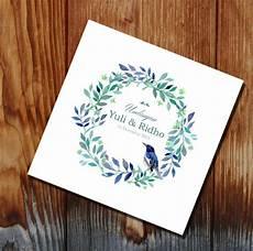 17 desain undangan pernikahan minimalis masa kini desain