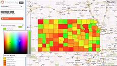Heat Maps Heat Map Market Share By Us Counties Youtube