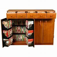 venture horizon cd dvd media storage cabinet w drawers ebay