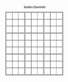 Sudoku Templates 8 Sudoku Templates Free Sample Example Format Free