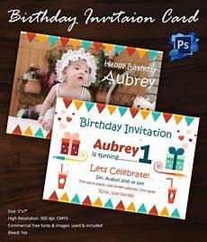 First Birthday Invitation Templates Free Birthday Invitation Template 32 Free Word Pdf Psd Ai