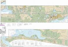 Noaa Coastal Charts Noaa Chart Intracoastal Waterway Ellender To Galveston
