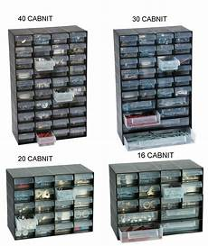 multi drawer cabinet plastic jewellery storage unit for