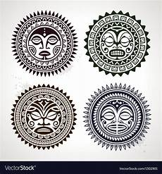 Polynesian Design Circle Polynesian Circle Patterns Vector By Morys Image