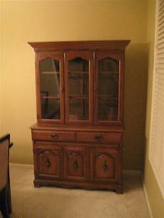painted dreams of family home china cabinet complete