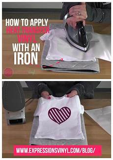 Transfer Apply Pin On Iron On Vinyl Projects