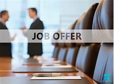 Job Offer Job Offer 1 Tams Ascer
