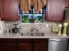 Diy Network Backsplash Kit How To Install A Backsplash How Tos Diy