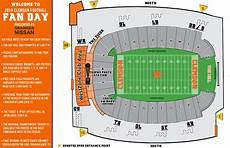 Clemson University Football Stadium Seating Chart Clemson To Hold Football Fan Day On Sunday
