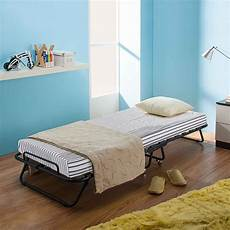 black ikayaa metal wood rollaway single folding bed frame