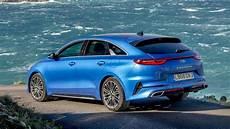 kia gt 2019 2019 kia proceed 1 4 gt line s blue shooting brake
