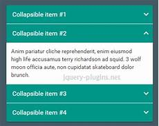 Material Design Accordion Material Design Accordion With Bootstrap Jquery Plugins