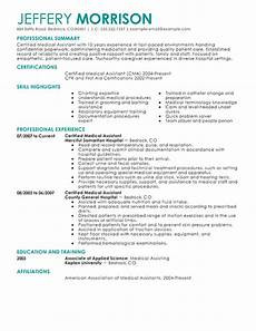 Medical Assistant Summary Best Medical Assistant Resume Example Livecareer