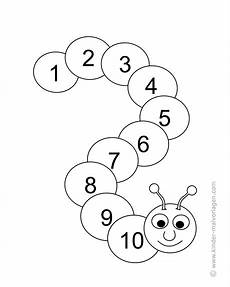 Ausmalbilder Zahlen Lernen Ausmalbilder Mit Zahlen 1 10