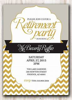 Retirement Party Invitation Template Free Retirement Party Invitation Template Microsoft