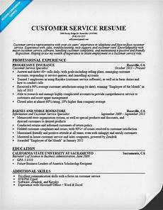 Sample Resumes For Customer Service Representative Customer Service Resume Sample Resume Companion