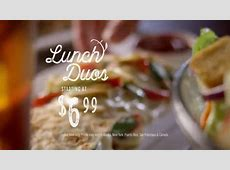 Olive Garden Lunch Duos TV Commercial, 'Never Ending Value