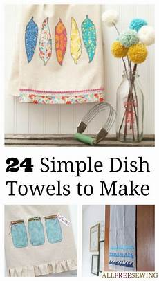 20 delightful dish towel patterns sewing crafts small