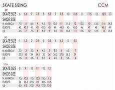 Ccm Ice Skates Size Chart Ccm Jetspeed 260 Hockey Skate Jr