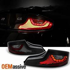 G35 Coupe Led Lights Fit Black Smoked 2003 2004 2005 G35 Skyline 35gt Coupe Led