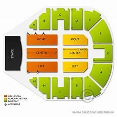Santa Cruz Warriors Seating Chart Santa Cruz Civic Auditorium Seating Chart Vivid Seats