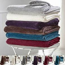 luxury throws king size fleece warm large