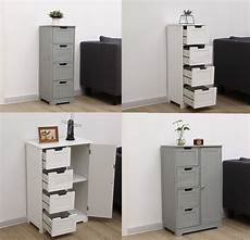 westwood bathroom storage cabinet wooden 4 drawer cupboard