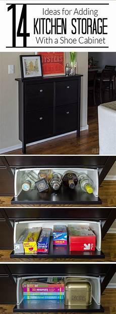 storage ideas for the kitchen add kitchen storage in a small space