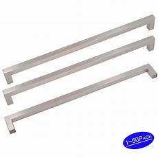 kitchen cabinet drawer pulls brushed nickel 8 8inch