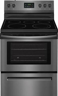 How To Light Electric Stove Ffef3052td Frigidaire 30 Electric Range Black