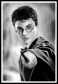 arte do desenho harry potter
