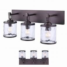 Halogen Vanity Light Fixture Oil Rubbed Bronze Vanity Bathroom 3 Light Bar Fixture