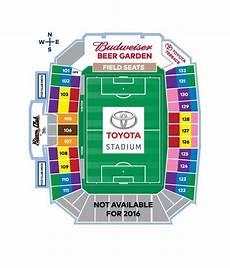 Fc Dallas Seating Chart Fc Dallas Field Map Map Of Toyota Stadium Dallas Texas