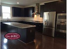 VanMetre Home: Level 4 Maple Espresso Cabinet, Level 1 Granite Counter Luna Pearl, Level 1 Pre