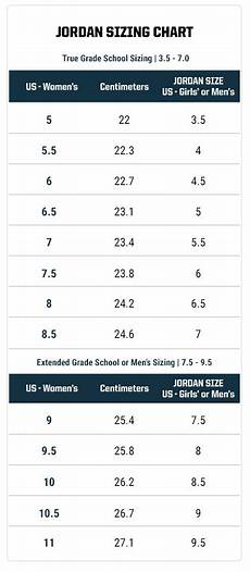 Jordan Shoe Size Conversion Chart How Women Can Find Jordan Shoes In Their Size Eastbay