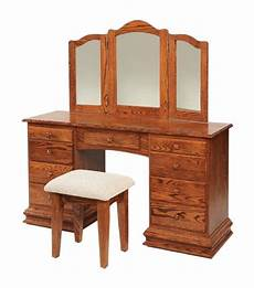 classic clockbase dressing vanity table from dutchcrafters